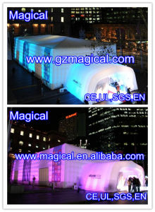LED Lights Inflatable Cube Tent for Exhibition (MIC-754) pictures & photos