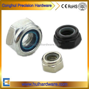DIN985 DIN982 Lock Nuts Nylon Hex Nuts (M2-M48) pictures & photos