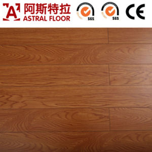 Wood Laminate Flooring/Mirror Surface Laminate Flooring (V-Groove) pictures & photos