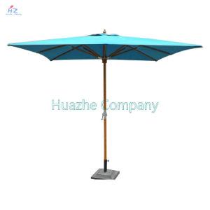 9ft (2.7m) Umbrella Beach Umbrella Patio Umbrella Outdoor Umbrella Garden Umbrella Wood Umbrella Wood Parasol pictures & photos