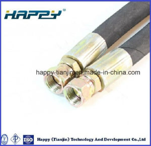 2sn Wire Braid Reinforced Hose pictures & photos