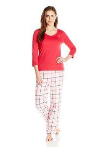 Women′s Fashion Pajamas Two-Piece Sleepwear Set