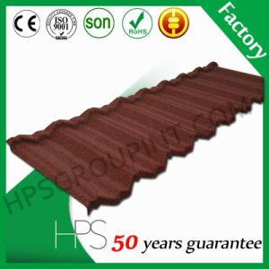 Guangzhou Building Material Stone Coated Metal Roof Tiles Aluminium Roof Tile pictures & photos