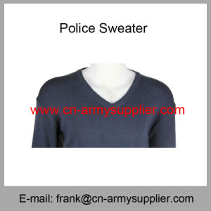 Grey Sweater-Blue Sweater-Navy Sweater-Police Sweater-Army Sweater pictures & photos