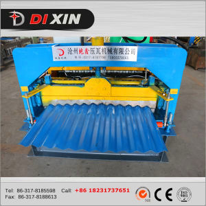 Dixin Machinery Corrugated Roof Tile Roll Forming Machine/Tile Making Machine pictures & photos