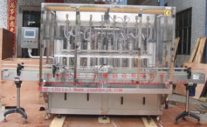 Automatic Liquid Detergent Filling Machine with Piston-Type Filling pictures & photos