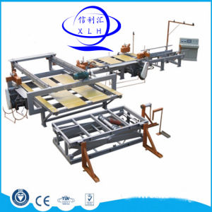 Furniture Grade Melamine Faced Particle Board Processing Machine / Particle Board Automatic Production pictures & photos