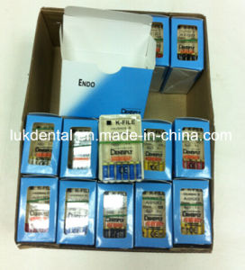 Hot Sale Dentsply Endo Files Dental Files (K, H, Reamer Files) pictures & photos
