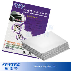 Inkjet Water Slide Decal Transfer Printing Paper Made of White pictures & photos