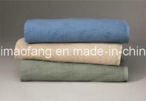 Woven Leno Weave Hospital Cotton Blanket pictures & photos