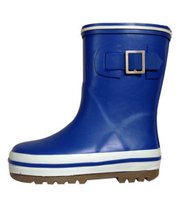 Kids Blue Boots for Raining Days pictures & photos