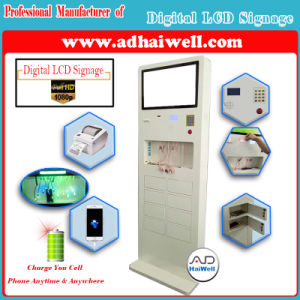 Cell Phone Charger Station Kiosk for Digital Signage Media Players pictures & photos