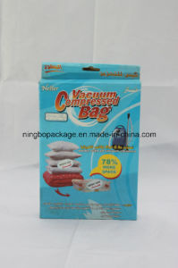 Vacuum Compressed Bag with Colorful Box Packaging pictures & photos