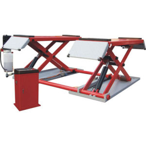 Two Hydraulic Cylinder Portable Scissor Lift with Ce