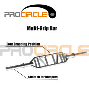 Crossfit Training High Quality Weight Lifting Multi-Grip Bar (PC-SM1007) pictures & photos