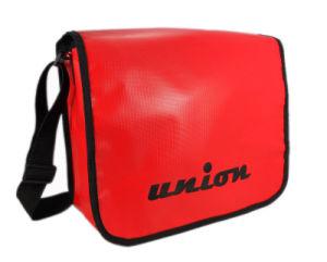 Waterproof Tarpaulin Briefcase Messenger Shoulder School Bag (UBS14003)