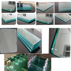 8mm 10mm 12mm Clear Tempered Glass, Acid Tempered Glass pictures & photos