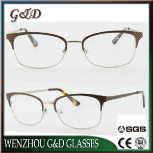 New Fashion Metal Glasses Eyewear Eyeglass Optical Frame Xd pictures & photos