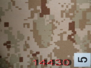 Desert Storm Style 195GSM Twill Military Camouflage Fabric pictures & photos