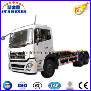 Best Seller Hook Lift Garbage/Refuse Truck with Arm Pull pictures & photos
