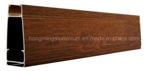 Wooden Print Windows for Aluminium Profile pictures & photos