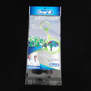 Top Quality Plastic Header Bag for Toothbrush pictures & photos