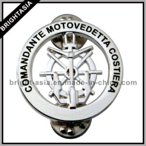 3D Stamping Lapel Pin with Nickel Plating (BYH-10701) pictures & photos