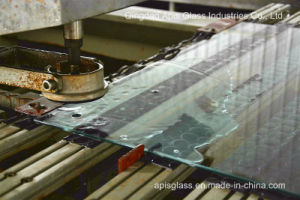 3mm Tempered /Toughened/ Armoured/Reinforced/ Hardened/Glass with Hole Drilling pictures & photos