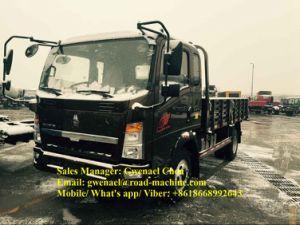 Isuzu Engine Sinotruk HOWO 4X2 4 Ton Cargo Truck Rhd/LHD