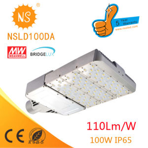 100W LED Street Light Thunder Protection with Light Sensor (NSLD0100DA) pictures & photos