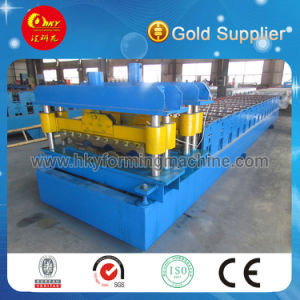 PLC Automatic Glazed Tile Roll Forming Machine pictures & photos