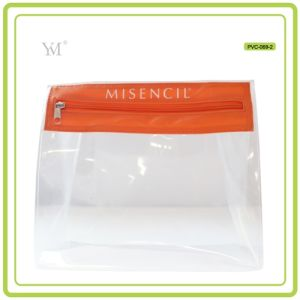 Latest Lady Beauty Women Clear PVC Cosmetic Toiletry Makeup Bag pictures & photos