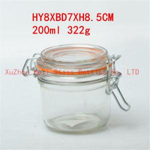 Glass Food Jar 200ml Storage Glass Jar