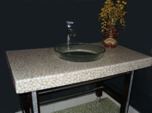 Artificial Wahsing Table for Bathroom pictures & photos