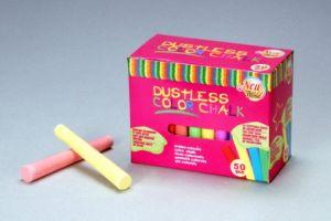 50PCS Color Dustless Chalk Non-Toxic pictures & photos