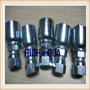 Cheap Price Chinese Carbon Steel Hose Fitting, Stainless Steel Heat Forged Hydraulic Fitting pictures & photos