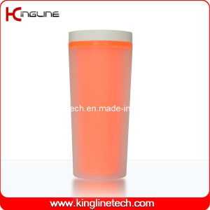 400ml Double Wall Plastic Cup Lid (KL-5009) pictures & photos