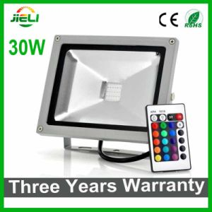 Three Years Warranty 50W RGB LED Floodlight with IR Controller pictures & photos