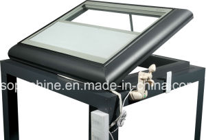 Auto Skylight with Insulated Glass Built in Cellular Shades for Sunlight Room Roof pictures & photos