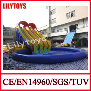 Lilytoy Inflatable Water Slide with Big Pool pictures & photos