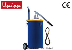 25L Hand Operated Grease Pump with Follower Plate Inside pictures & photos