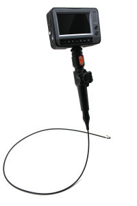 6.0mm Industrial Video Borescope with 2-Way Articulation, 4m Testing Cable