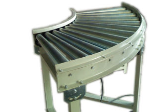 Motorized Roller Conveyor Bend/Curve pictures & photos