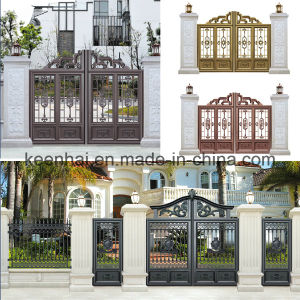 Made in China Aluminum Courtyard Garden Gate pictures & photos