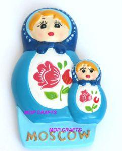 Moscow Russia Souvenir for Fridge Magnet Resin Matroshka pictures & photos