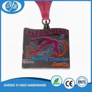 Customized Bird Shape Design Enamel Marathon Medals pictures & photos