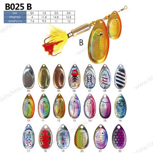 Colorful Top Quality Spinner Fishing Lure pictures & photos