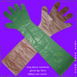 Disposable Veterinary Gloves pictures & photos