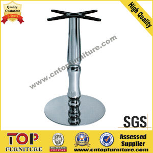 Round Stainless Steel Restaurant Coffee Table Base pictures & photos