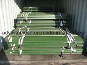 Green Punched Rail Steel T Post pictures & photos